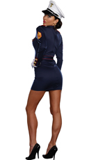 Take Charge Marge Marine Costume - Navy