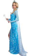 Ice Queen Costume - Blue