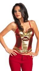 Women's Iron Man Bustier - Red