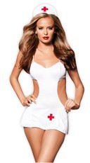Hot Pocket Nurse - White/Red
