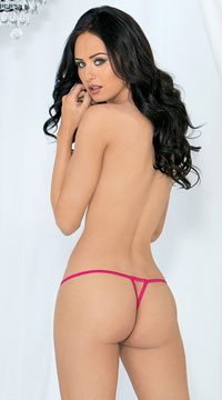 Mini Crotchless Panties Pack - as shown