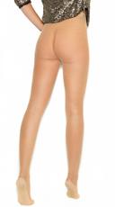 Beige Fishnet Pantyhose - Nude