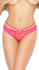 Candy Pink Lace Panty - Candy Pink