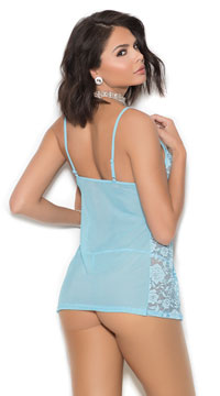 Fly Away Babydoll Set - Baby Blue