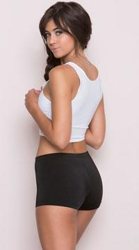Sexy Hot Pants - Black