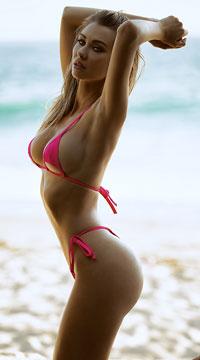 Peekaboo Micro String Bikini - Pink