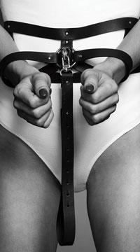Black Wide Belt & Restraints - Black
