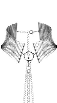 Silver Desire Metallique Collar - Silver