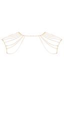 Magnifique Gold Shoulder Chain - Gold