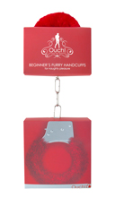 Furry Red Handcuffs - Red