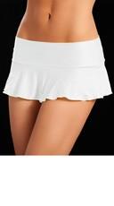 Basic Ruffle Skirt - White