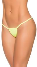 Basic Y-Back Thong - Wet Green