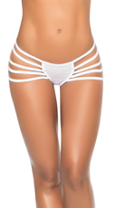 Ultra-Strapped Thong - White