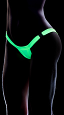 Clip Perfect Thong - Wet Green