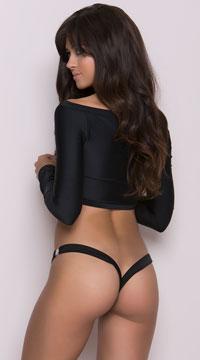 Clip Perfect Thong - Black