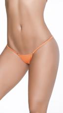 Clip Y Back Thong - Wet Orange