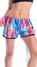 Watercolor Running Shorts
