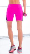 Basic Gym Shorts - Magenta