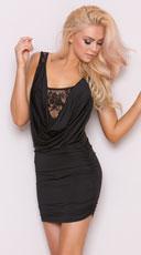 Dressed To Kill Mini Dress - Black