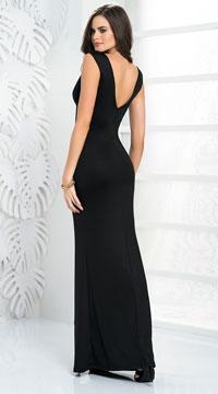 Divine Vixen Gown - Black