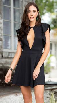 Summer Daze Beach Dress - Black