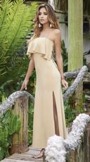 Island Paradise Maxi Dress - Mocha