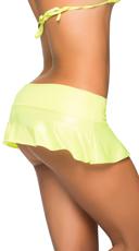 Basic Ruffle Skirt - Wet Green