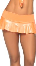 Basic Ruffle Skirt - Wet Orange