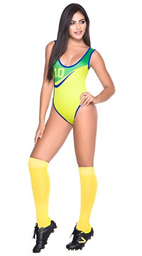 Brasil Futbol Bodysuit