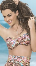 Twist Bandeau Bikini Top with Removable Straps - Spring