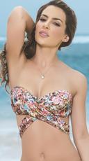 Multi-Purpose Wrap Bikini Top - Spring