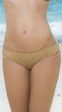 Ruffled Hipster Bikini Bottom - Gold