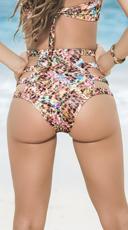 Strappy High-Waisted Bikini Bottom - Spring