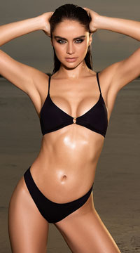 Mojito Mama Bikini Swimsuit - Black