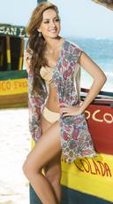 Paisley Dreams Kimono Cover-Up