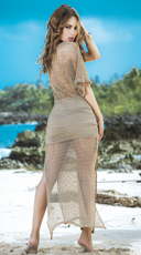 Crochet Beach Maxi Dress - as shown
