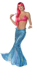 Yandy Under the Sea Mermaid Costume - Blue/Pink