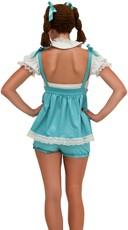 Yandy Blue Pumpkin Patch Doll Costume - Blue
