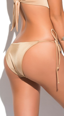 Yandy Classic String Bottom - Gold