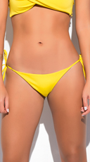 Yandy Classic String Bottom - Yellow