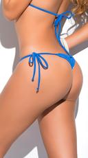 Yandy Thong String Bikini Bottom - Turquoise