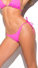Yandy Thong String Bikini Bottom - Pink