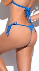 Yandy Micro Thong Bikini Bottom - Turquoise
