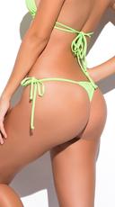 Yandy Micro Thong Bikini Bottom - Green
