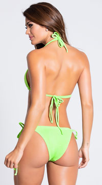 Yandy Classic String Bottom - Green