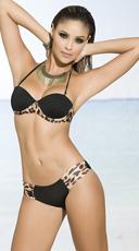 Yandy Frisky Leopard Print Bikini - as shown