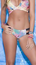 Splatter Print Bikini Bottom