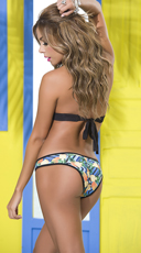 Yandy Simply Chic Pineapple Bikini - as shown