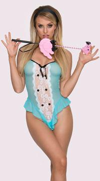 Yandy Wonderland Fantasy Princess Lingerie Costume - Blue