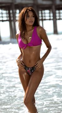 Yandy Twisted Basic Bikini Top - as shown